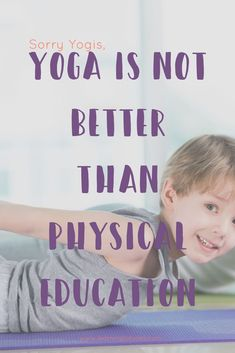 Sorry yogis, yoga is not better than physical education. FInd out why! Natural Parenting, Parenting Advice, Family Organizer, Attachment Parenting, Mom Advice, Yoga For Kids, Self Development, Physical Education, Family Life