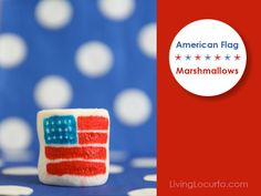 flag marshmallows -