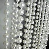 6ft Pearl Multi Ball Chain Curtain