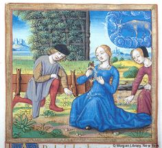 Book of Hours, MS M.85 fol. 4r - Images from Medieval and Renaissance Manuscripts - The Morgan Library & Museum