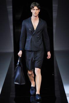 Emporio Armani Spring 2013 Menswear Collection Slideshow on Style.com