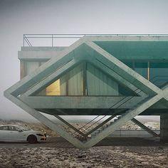 WEBSTA @ arc.only - House no. 145 by Adam Spychała.•#Arc_Only