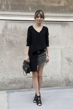street style: Paris Fashion Week Spring 2014...