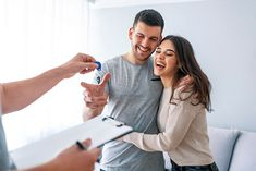 Giving Keys, Young Couples, New Homes, Stock Photos, House, Hands, Image, Products, Newlyweds