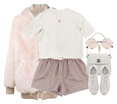 """""""Put Together."""" by oh-aurora ❤ liked on Polyvore featuring Faith Connexion, Emilia Wickstead, Sunday Somewhere, Chanel, Lucky Brand, Fendi and Michael Kors"""