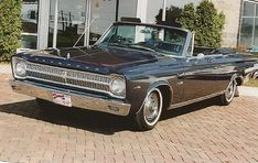 1965 Plymouth Belvedere. I am posting what an early 70's stock car made from one of these looks like!