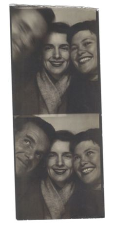 Charles and Ray Eames with their daughter, Lucia.