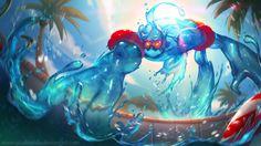 Zac e a piscina | League of Legends