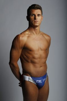 Troy Dumais, an American Olympic diver