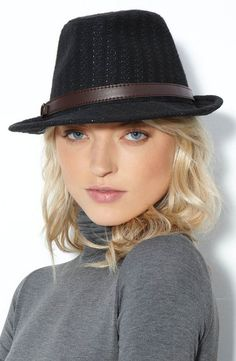 Knitted Fedora Hats For Women