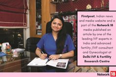 """""""Egg Freezing"""" & """"Delayed Motherhood"""" #Firstpost, Indian #news and media website and a part of the #Network18 media published an article by one of the leading #IVFexperts in India and advanced #fertility /IVF consultant and Gynecologist at #DelhiIVF & Fertility Research Centre, Dr. Aastha Gupta, where she talked at length and busted lots of myths around #EggFreezing? Read the full article here..."""