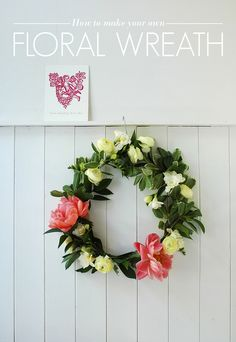 How to Make Your Own Floral Wreath - AO Life