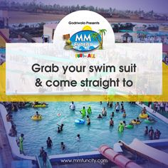 Why waste your weekend discussing politics with family at an expensive restaurant when you can come at MM FUN CITY and explore the exciting water slides? Be smart, grab your swim suits & head straight to the largest waterpark of Chhattisgarh.  For More: https://goo.gl/Su9dWZ #MMFunCity #Rides #BestWaterpark #WaterPark #WaterSlides #Thrill #Joy #Twist #Excitement #Fun #Weekend