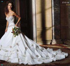 New Custom-Made bridal dress
