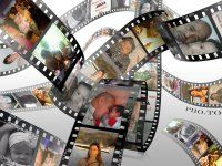 '3D Filmstrip' Multiple Photo Frame for Your Photos