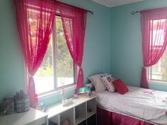 Bedroom make over for my 9yr old girl