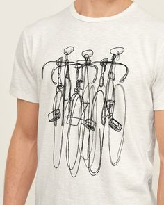 Mens - Embroidered Bike Graphic Tee | Mens - Graphic Tees | eu.Abercrombie.com