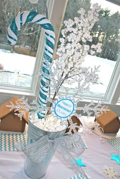 Winter Wonderland Gingerbread  | CatchMyParty.com