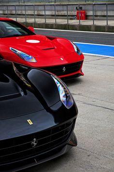 Black & Red #Ferrari f12 Berlinetta