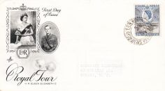 KUT Queen Elizabeth II Royal Tour First Day Cover 1954