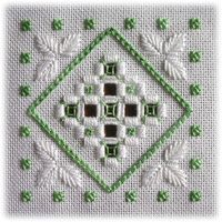 Hardanger designs by Round the World - East & West