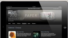 Apple Names Its Best iPhone and iPad Apps of 2012 | Mashable
