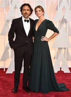 Con ustedes Alejandro González Iñárritu en la alfombra roja de los #Oscars2015
