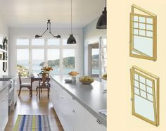 A tilt-turn window can tilt in like a hopper or pivot in like a door, depending on which way you turn the handle. Home Design Diy, New Home Designs, House Design, Prairie Style Houses, Window Types, European Home Decor, Best Kitchen Designs, Home Hacks, Apartment Living
