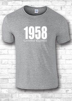 6a7a3c95 57th birthday gift t shirts 1958 shirts – 57th customized shirts 57th dad  tshirts 579th custom