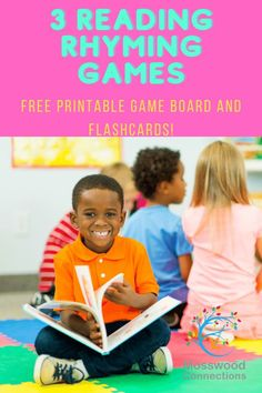 Three Reading Rhyming Games - Mosswood Connections Learning Games For Kids, Educational Activities For Kids, Reading Activities, Reading Skills, Teaching Reading, Teaching Kids, Preschool Literacy, Early Literacy, Literacy Activities