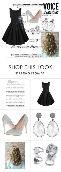 """""""The Voice"""" by mpetrick ❤ liked on Polyvore featuring Lauren Lorraine, thevoice and YahooView"""