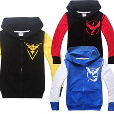 >> Click to Buy << 2016 new POKEMON GO Sweatshirts Hoodies Boys Clothing Kids Clothes Cartoon Tops Casual Hoodies Sweatshirts Jacket for 3-10 Bays #Affiliate