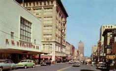 Little Rock, Arkansas 1950  Blass department store