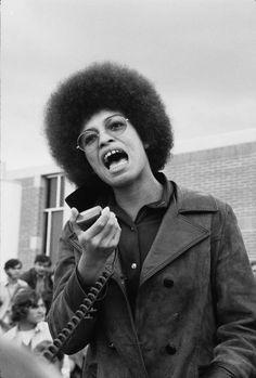 Angela Davis, March 11th, 1970.