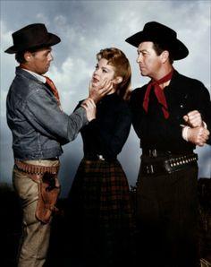 """The Law and Jake Wade"" - John Sturges (1958) - Robert Taylor - Richard Widmark - Patricia Owens - Directed by John Sturges - MGM."