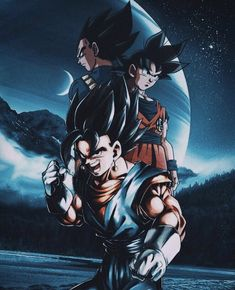 by @dcvizuals ⚡️ #db #dbz #dbgt #dbs #dbh #dbaf #goku #vegeta #vegito Dragon Ball Z, Dragon Ball Image, Goku E Vegeta, Son Goku, Anime Couples Manga, Cute Anime Couples, Anime Girls, Dbz Wallpapers, Vegito Y Gogeta