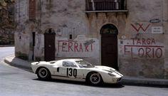 Greder / Giorgi, #130 Ford GT40, Targa Florio 1967 (5th)