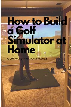 Here are the choicest components for putting together the best indoor golf simulators for home possible. Indoor Golf Simulator, Golf Simulators, Helpful Hints, Useful Tips
