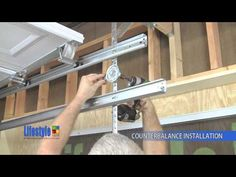 How to Install a Garage Door - This Old House - YouTube