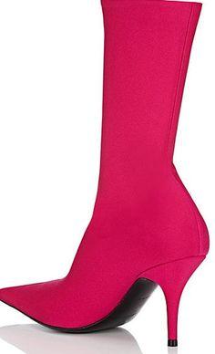 BALENCIAGA Knife Tech-Jersey Ankle Boots