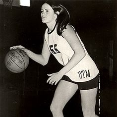 Pat Summitt back in the day!