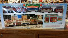 Dickensville Collectable Train Set 1989 by BlingAndBlueJeans on Etsy