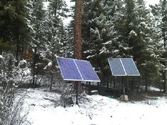 "Solar has come a long way in the past few years… A large portion of the ""Log Cabin"" community is the REMOTE cabin lifestyle. And therein lies the necessity for sustainability, it is a requirement.  Folks that have a natural desire to be self sufficient tend to create their entire personal ""system"" to revolve around that way of thinking. They just ""get it""!    Read this article on the Log Cabin Directory, http://www.logcabindirectory.com/blog/is-solar-on-your-radar"