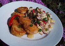 Bramborový salát s ředkvičkami Chicken, Meat, Food, Eten, Meals, Cubs, Kai, Diet