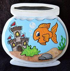 Gold Fish Bowl 3D Puzzle boy on Etsy, $20.00