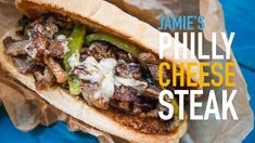 THE BEST PHILLY CHEESESTEAK EVER
