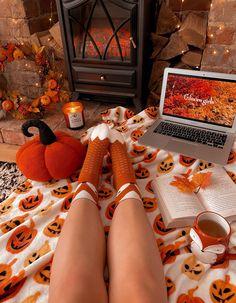 Halloween Fireplace, Wooly Hats, Happy October, Autumn Cozy, Fall Photos, Etsy Uk, Autumn Inspiration, Lifestyle Blog, Sad