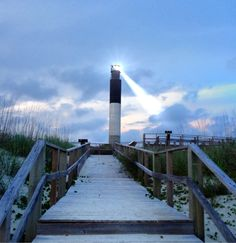 Oak Island, NC lighthouse #oakisland another shot of the iconic Oak Island lighthouse.