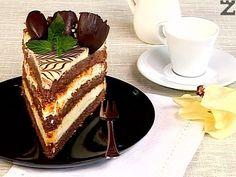 Bulgarian Desserts, Bulgarian Recipes, Bulgarian Food, Russian Cakes, Delicious Desserts, Yummy Food, European Cuisine, Biscuit Cake, Food To Make