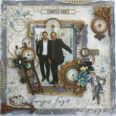 Tempus Fugit **Dusty Attic & Maja Design** - Scrapbook.com